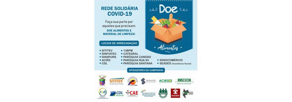 Campanha Rede Solidária COVID-19